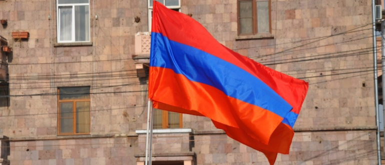 Въезд в Армению